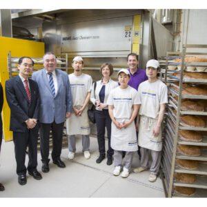 NGESのドイツマイスター留学:日本総領事館からの視察