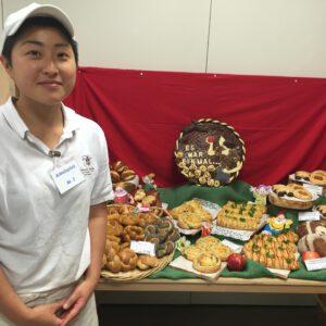 製パンのプログラムのNGESの参加者が今年のゲゼレの試験で見事優勝されました。