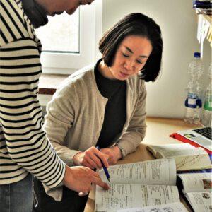 NGES職人プログラム: 語学学校での生活風景