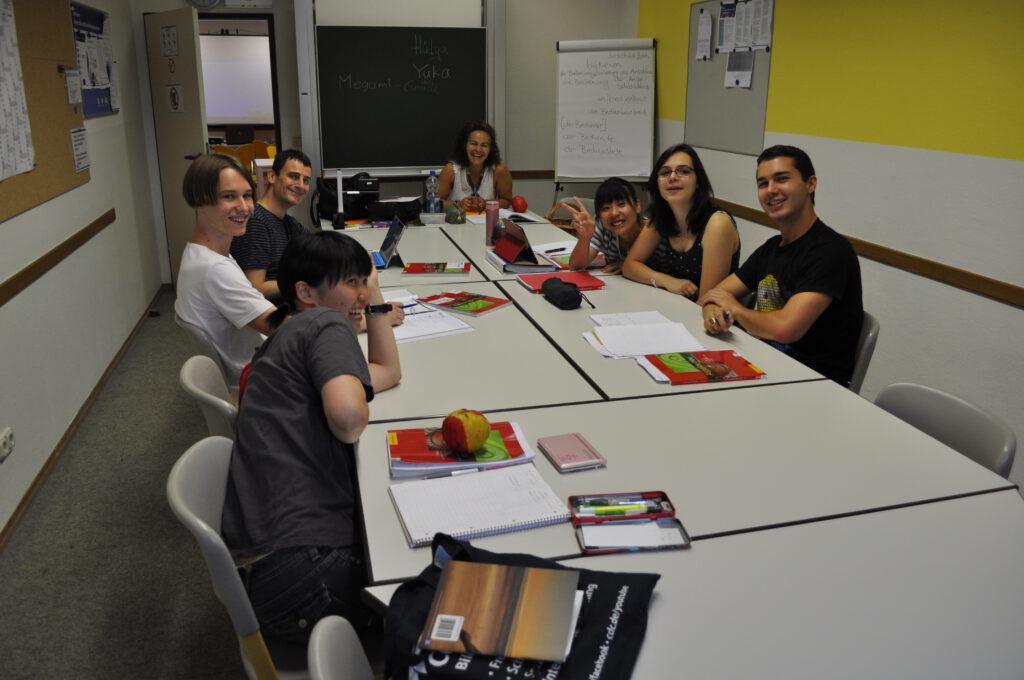職人プログラム:ドイツ語の勉強