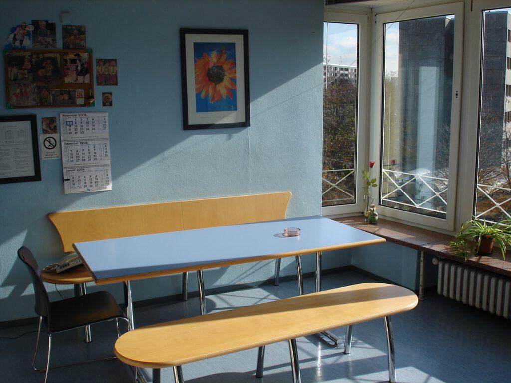 職人プログラム:語学学校での宿舎