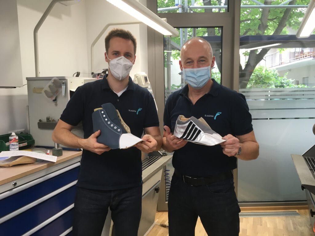 整形靴製作とコロナの状況